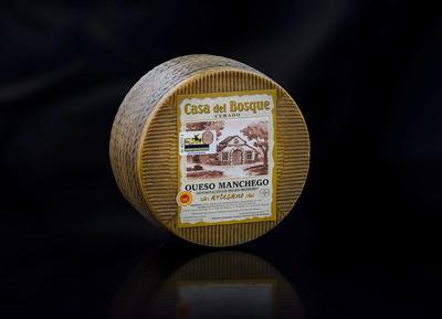 MANCHEGO DOP CURADO - CASA DEL BOSQUE