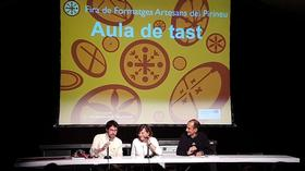 Amagoia Anda: Amiga del Formatge a la Fira de Formatges Artesans del Pirineu 2018