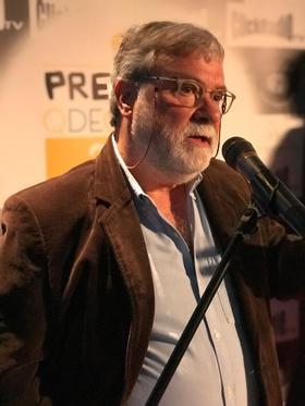 Entrega del premio `Persona Relevante en el Mundo Del Queso' a la trayectoria profesional de Enric Canut