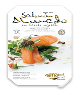 Ahumados : GIMAR : Salmón ahumado en aceite vegetal