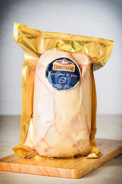 Foie gras fresco de pato