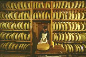 L'Etivaz, el gran queso alpino.